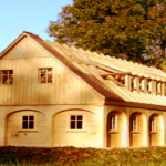 """Neubau eines Umgebindehauses"" – Lausitzer Zimmermannskunst"