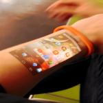 Das flexible Display unter der Haut