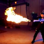 Boring Company: Der kleine Flammenwerfer