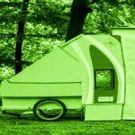 """Scout – stop & stay-camper: """"Wohnwagen für das Fahrrad"""""""