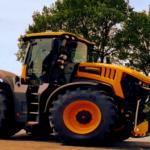 166,7 Stundenkilometern – Der Renntraktor von JCB