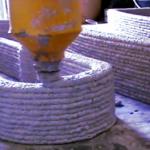 """Hausbau: """"Maximal 24 Stunden dauert der 3D-Druck eines Rohbaus aus der Spritzdüse"""""""